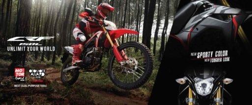 Motor Honda Terbaru CRF150
