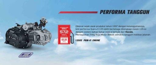 Motor Honda Terbaru SUPRA X 125