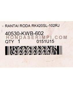 RANTAI RODA BLADE 110 SPARE PART MOTOR
